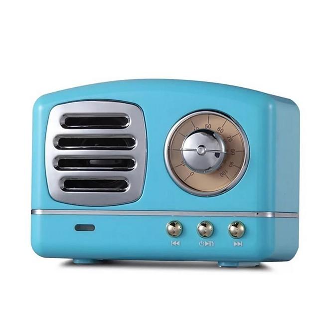 LITBest Portable Speaker Bluetooth Speaker Mini Retro Wireless Speakers Radio USB/TF Card Music Player Subwoofer Bluetooth 4.1