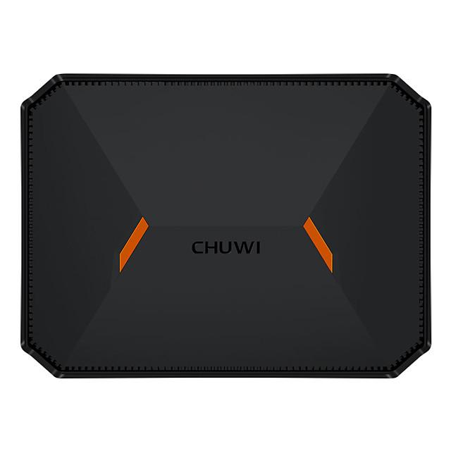 CHUWI Herobox Mini PC Computer Fanless Desktop Intel Gemini- Lake N4100 Windows10 OS Quad Core 64 bit 1.1GHz to 2.4GHz 8GB RAM 180GB ROM Expandable to 1T HDD HDPC 2.2 BT 4.0 and Dual WIFI