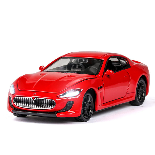 1:32 Toy Car Music Vehicles Car F1 car Race Car SUV Office Desk Toys Simulation Exquisite Zinc Alloy Rubber Mini Car Vehicles Toys for Party Favor or Kids Birthday Gift