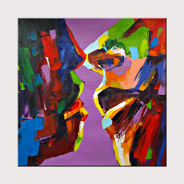 Best Selling Couples Kissing Oil Painting Handmade Picture On Canvas Home Wall Decoration Painting