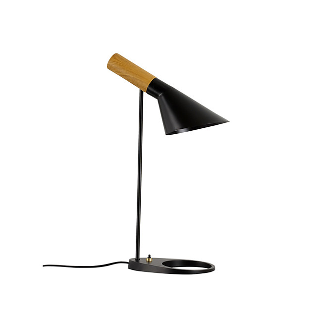 Desk Lamp Eye Protection Creative Modern Contemporary Novelty Nordic Style For Bedroom Study Room Office Metal 200-240V 110-120V White Black