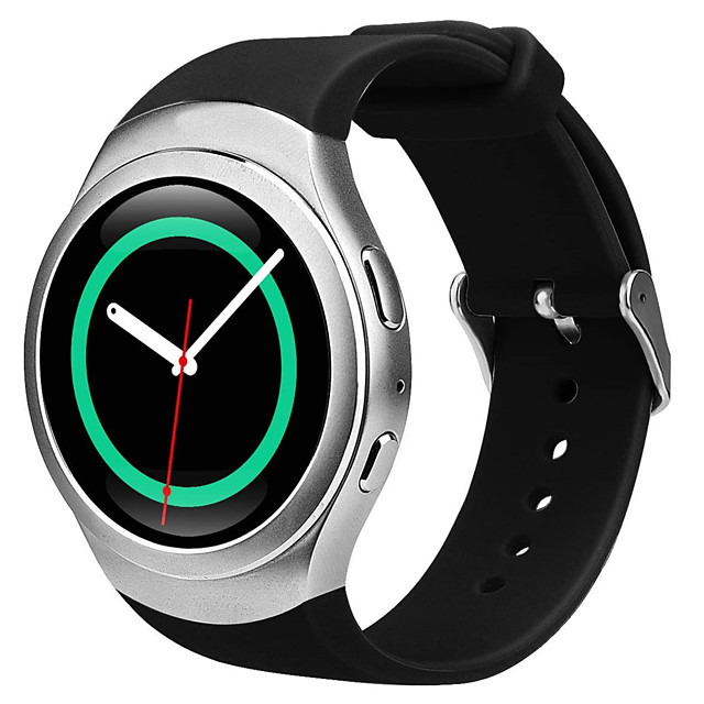 Watch Band for Gear S2 Samsung Galaxy Classic Buckle Silicone Wrist Strap