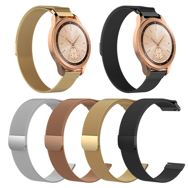 Watch Band for Huami Amazfit Bip Younth Watch Xiaomi Milanese Loop Stainless Steel Wrist Strap