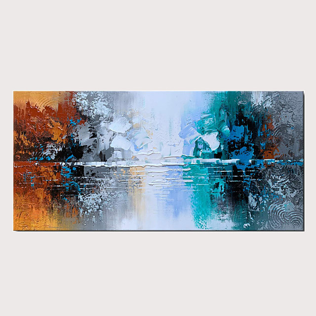 Handmade Abstract Decoration Knife Oil Painting on Canvas Thick Texture Modern Wall Art for Home Decor