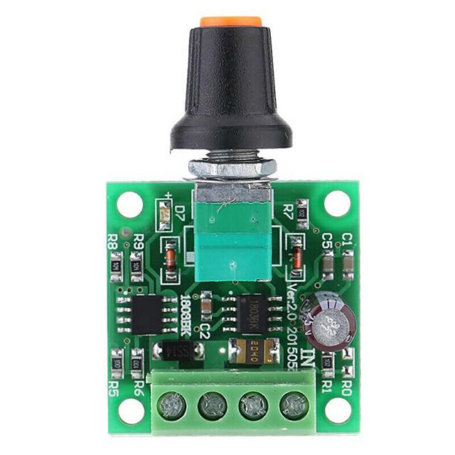 Low Voltage DC PWM Motor Speed Controller Module 1.8V 3V-5V-6V 12V 2A N8N9