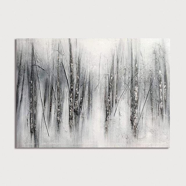 Hand Painted Rolled Canvas Oil Painting Modern Abstract Home Decoration Painting Only