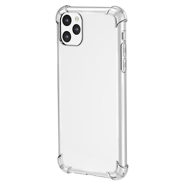 Case For Apple iPhone 11/11 Pro /11 Pro Max /X/Xs/Xr/Xs Max/7/8/7P/8P Shockproof Back Cover Transparent TPU