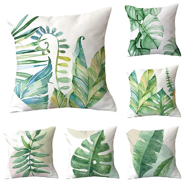 6 pcs Throw Pillow Simple Classic 45*45 cm