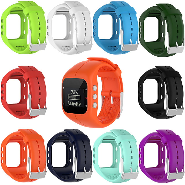 Watch Band for Polar A300 Polar Sport Band TPE Wrist Strap