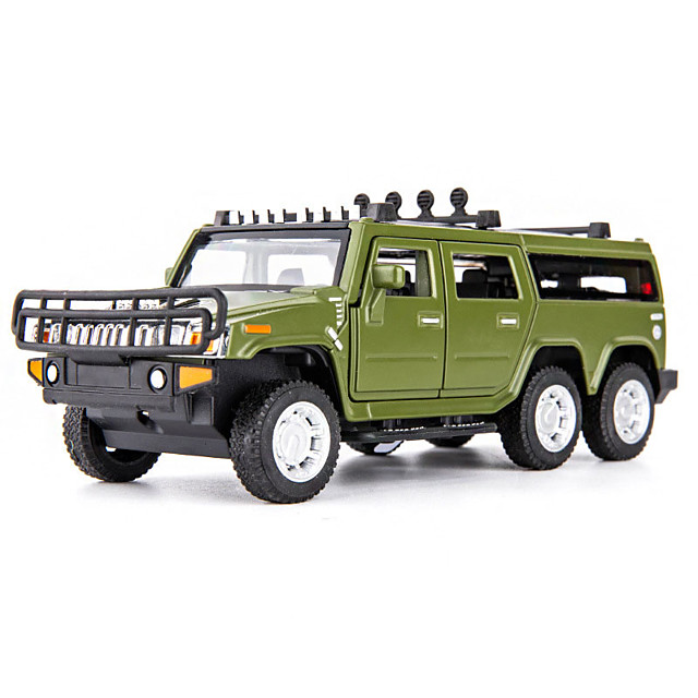 1:32 Toy Car Music Vehicles Truck Truck Construction Truck Set Military Vehicle Special Designed Glow Focus Toy Zinc Alloy Rubber ABS+PC Mini Car Vehicles Toys for Party Favor or Kids Birthday Gift