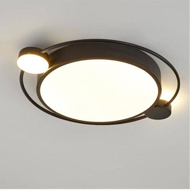 Ceiling Light North Europe Fixed Room Lighting Simple and Generous Intelligent Remote Control Lamp 24 w