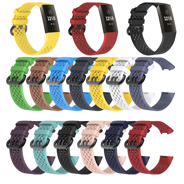 Watch Band for Fitbit charge3 Fitbit Sport Band TPE Wrist Strap