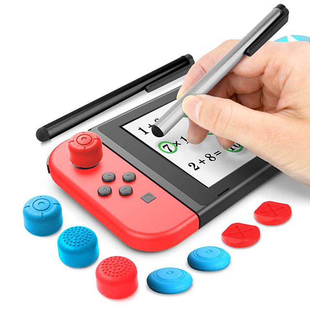 Switch lite stylus set touch screen pen  high rocker cap  short rocker cap NS gaming touch pen