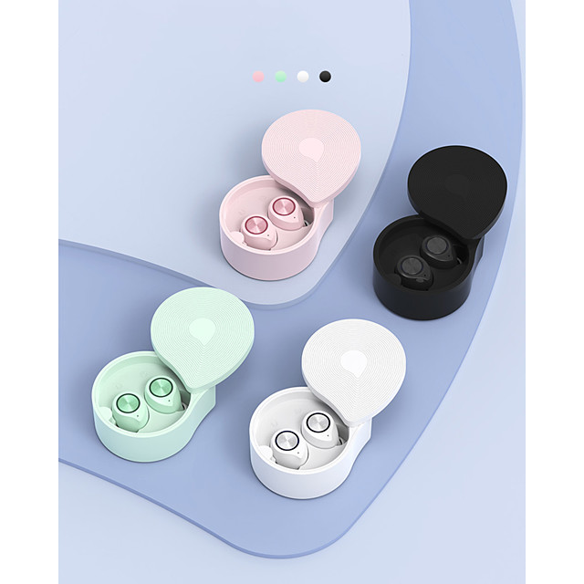 TW70 Mini Wireless Bluetooth 5.0 TWS In-Ear Headphones Touch Control 3D Stereo Earphone with Charging Box