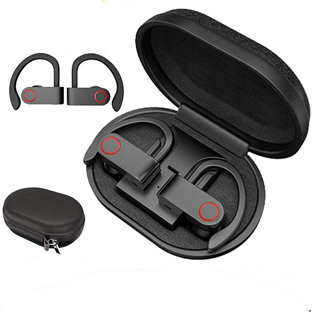 A9 TWS Wireless Bluetooth 5.0 Headphones Sports Earphones Ear Hook Running Noise Cancelling Stereo Earbuds With MIC Waterproof