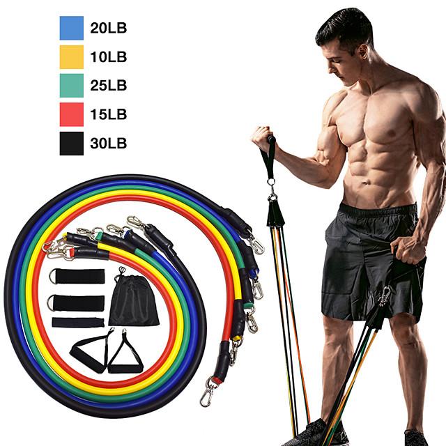 11-Piece Home Workout Resistance Band Set