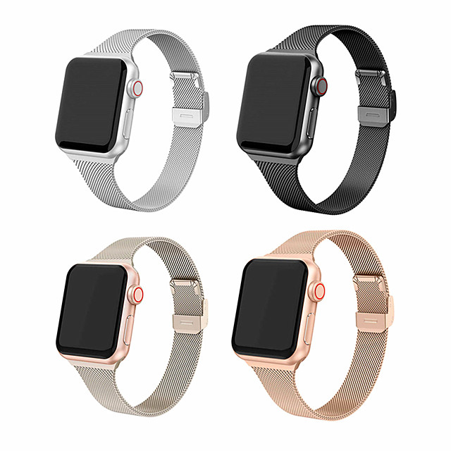 Milanese Strap For Apple Watch IWatch 5 Band 42/44MM 38/40MM Band Stainless Strap