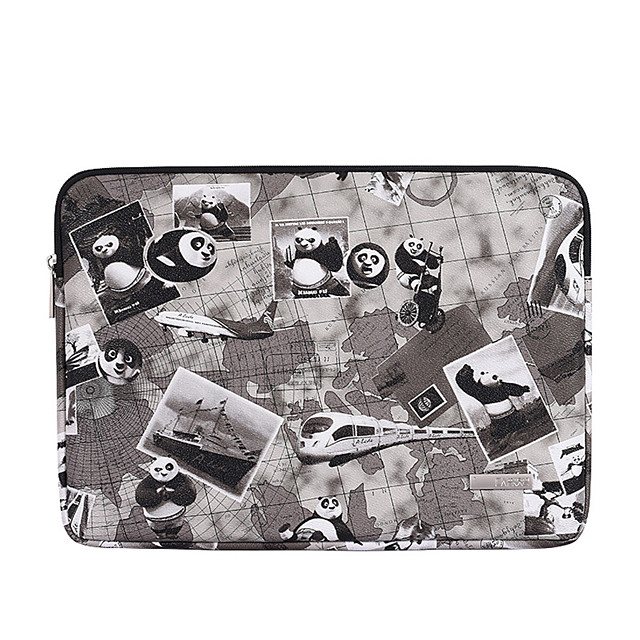 13.3 14.1 15.6 inch Universal PU Leather Animal Print Water-resistant Shock Proof Laptop Sleeve Case Bag for Macbook/Surface/Xiaomi/HP/Dell/Samsung/Sony Etc