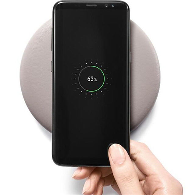 15W Qi Wireless Charger for iPhone X Xs MAX XR 8 plus Fast Charging for Samsung S8 S9 Plus Note 9 8 USB Phone Charger Pad