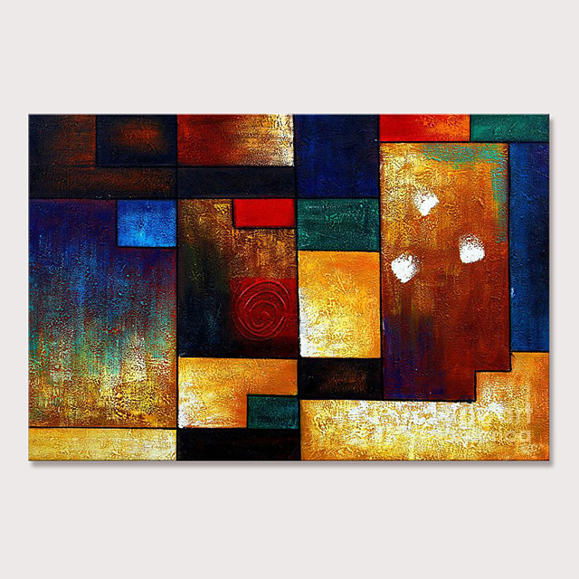 Mintura Large Size Hand Painted Abstract Oil Paintings on Canvas Pop Art Wall Pictures For Home Decoration No Framed