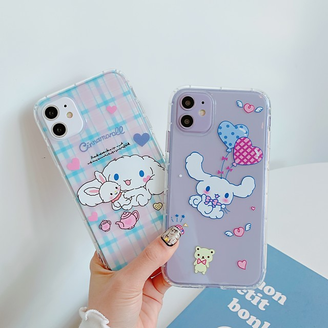 Case For Apple iPhone 11 / iPhone 11 Pro / iPhone 11 Pro Max Shockproof / Ultra-thin / Transparent Back Cover Dog / Animal / Cartoon TPU