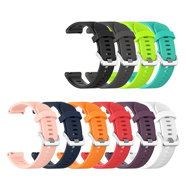Watch Band for Gear Sport / Gear S2 / Gear S2 Classic Samsung Galaxy Sport Band Silicone Wrist Strap