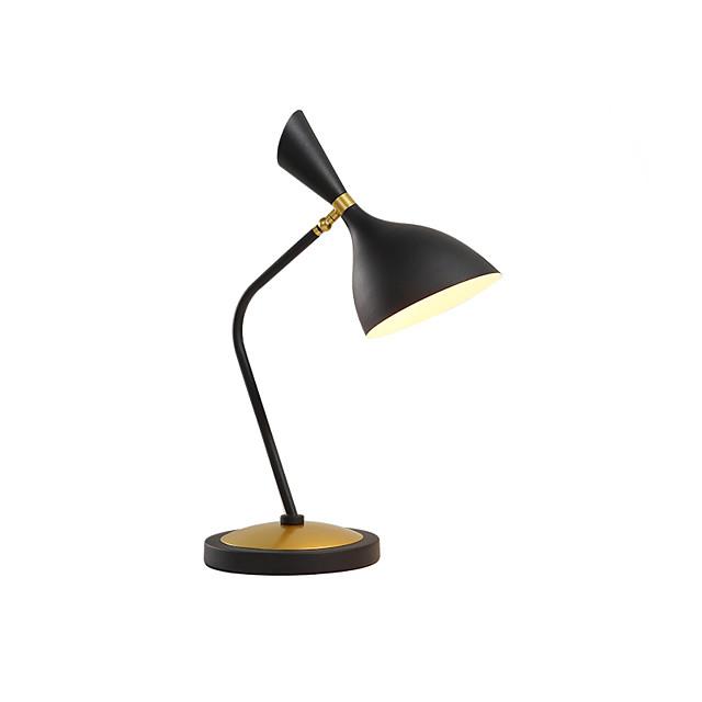 Desk Lamp New Design Metallic / Modern Contemporary / Nordic Style For Living Room / Study Room / Office Metal 200-240V / 110-120V White / Black
