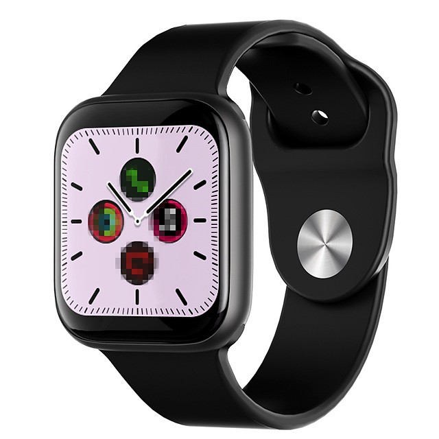 T6 Smartwatch for Apple/ Samsung/ Android Phones, Bluetooth Fitness Tracker support Notify/ Heart Rate Monitor