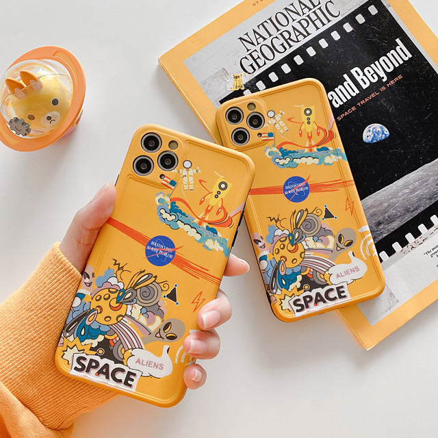 Case For Apple iPhone 11 / iPhone 11 Pro / iPhone 11 Pro Max Shockproof / Pattern Back Cover Cartoon PC