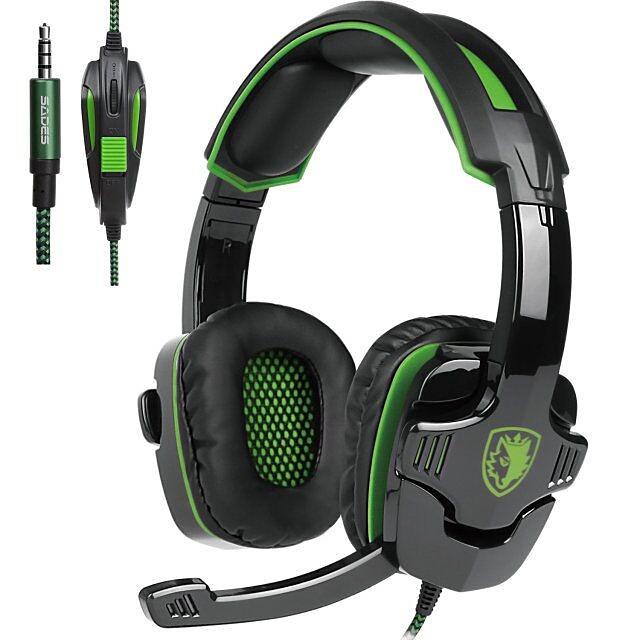 SADES SA-930 Professional PS4 Headset 3.5mm Gaming Headphones Music for Computer Mobile Phones
