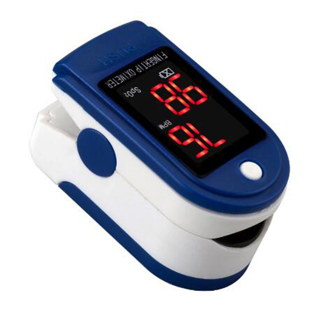 FITFAITH M130 Color OLED Finger Pulse Oximeter Blood Oxygen Saturation Monitor Blood Oxygen Heart Rate and SpO2 Levels Random Color Shipped AAA Batteries(not include)