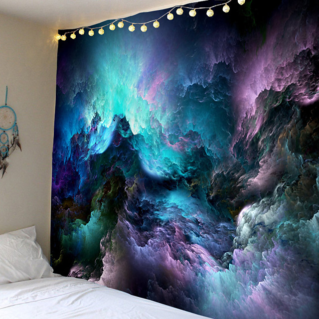 Wall Tapestry Art Decor Blanket Curtain Picnic Tablecloth Hanging Home Bedroom Living Room Dorm Decoration Abstract Galaxy Starry Sky Universe
