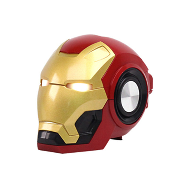 LITBest Iron Man Wireless Bluetooth Speaker Cartoon Portable outdoors Bass Wireless Mini Robot speaker Support TF card