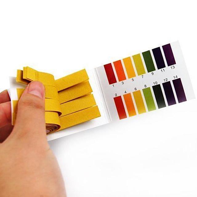 80Strips Full Range Alkaline Acid pH 1-14 Test Paper Litmus Testing Indicator