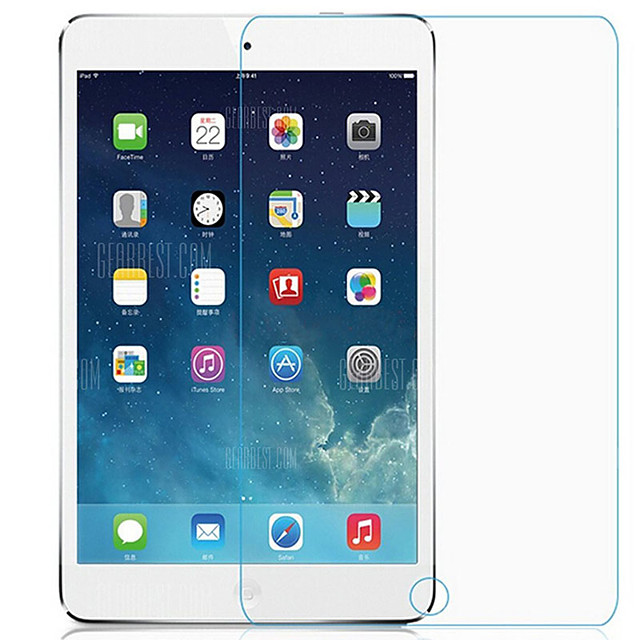 2pcs ASLING 0.3mm 9H Tablet Screen Protector Tempered Glass for iPad new 9.7 2017 2018 2018 iPad Air 1 2 3 Pro 9.7inch / iPad Mini 1-2-3 / 4 / 5