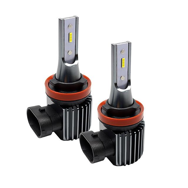 2pcs H1 / H3 / H7 / H11 / 9005 Super Bright Car Light Bulbs 20 W Integrated LED 2000 lm LED Fog Lights Fanless headlight
