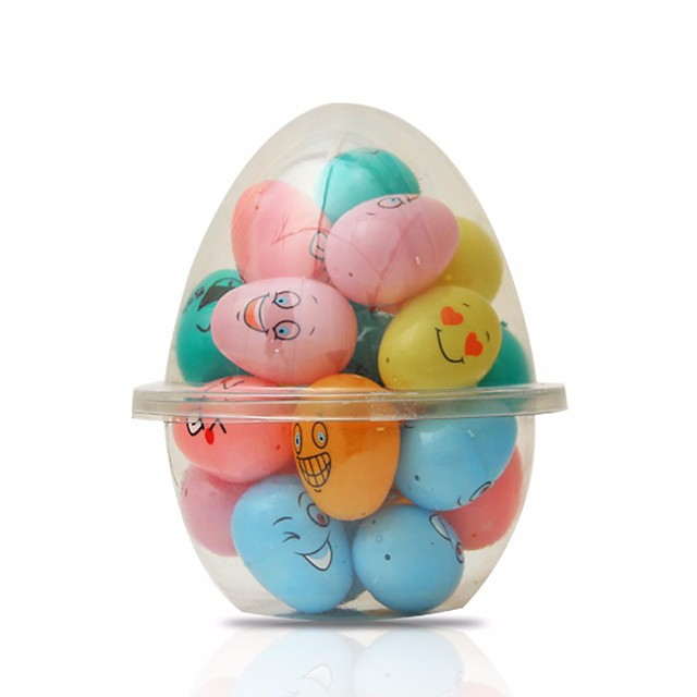 Easter Holiday Decorations Christmas Decorative objects 1 set multi color emoji
