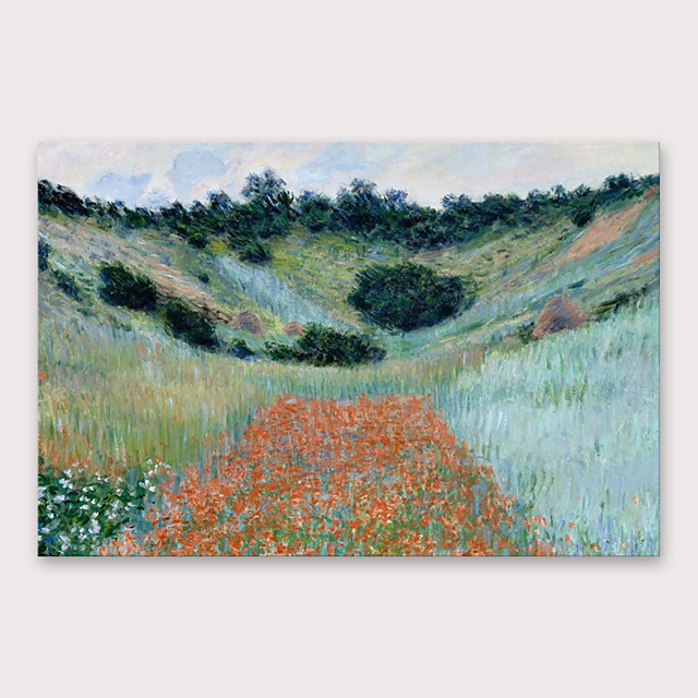 IARTS®Hand Painted Field Oil Painting   with Stretched Frame For Home Decoration