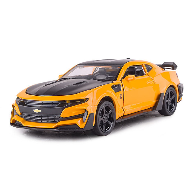 1:32 Toy Car Vehicles Car Race Car F1 car Race Car Glow Cute Parent-Child Interaction Zinc Alloy Rubber Mini Car Vehicles Toys for Party Favor or Kids Birthday Gift / Kid's
