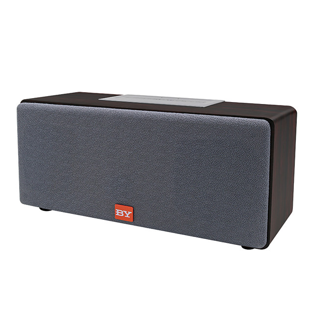 BY 3070 20W TWS Subwoofer Wooden Powered Bass Enceinte Bocinas Parlantes Bluetooth Speaker For Home Theatre System