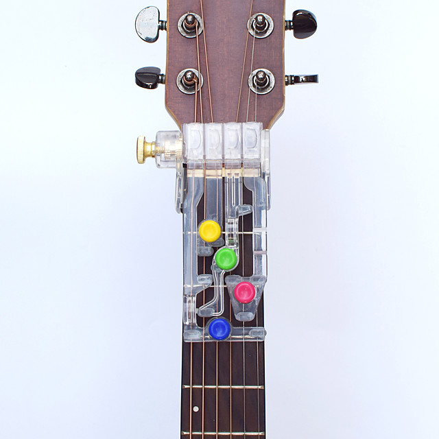 1Pcs Acoustic Guitar Chord Buddy Teaching Aid Guitar Learning System Teaching Aid Accessories for Guitar Learning