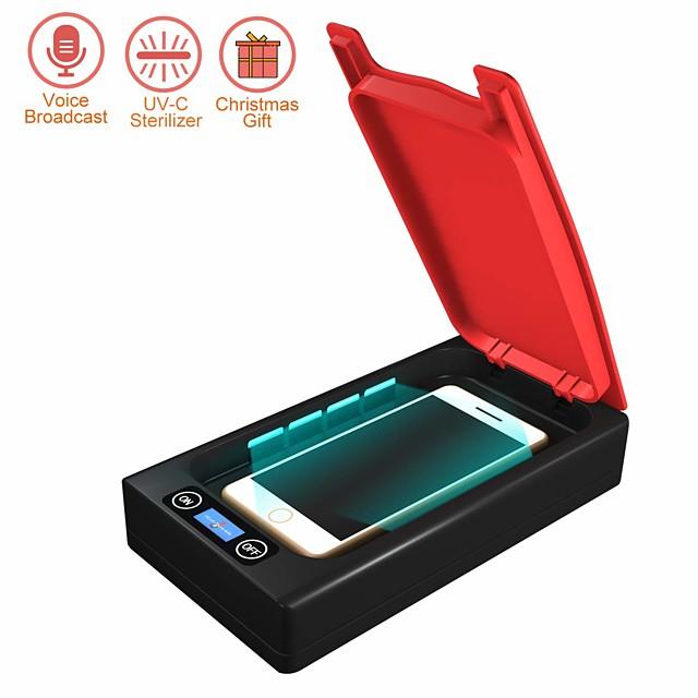 Mobile Phone Sterilizer Disinfection / UV disinfection PVC(PolyVinyl Chloride) Anti-Odour