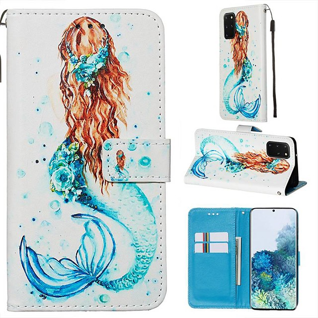Case For Samsung Galaxy Samsung Galaxy A90(2019) / Samsung Galaxy A80 / Samsung Galaxy A50s Wallet / Card Holder / with Stand Full Body Cases Sexy Lady PU Leather