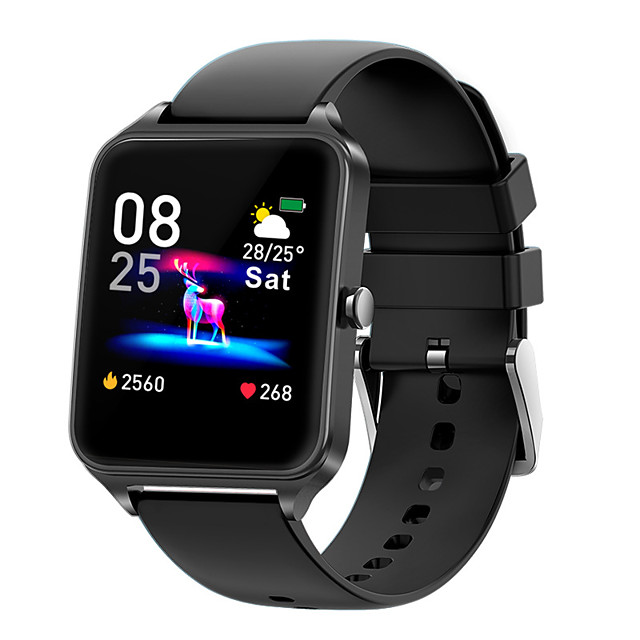 B20 Smartwatch 1.4-inch Screen Bluetooth Fitness Tracker Support Heart Rate/ Blood Pressure Monitor Multi-sport Modes Smart Watch for Apple/ Samsung/ Android Phones