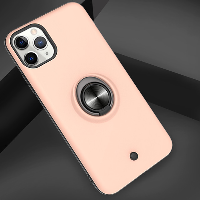 Case For Apple iPhone 11 / iPhone 11 Pro / iPhone 11 Pro Max Shockproof / Ring Holder / Translucent Back Cover Armor PC