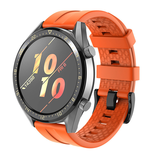 Watch Band for Huawei Watch GT2 46mm Huawei Sport Band Silicone Wrist Strap
