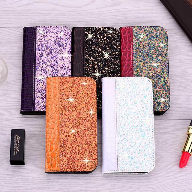 Case For Apple iPhone 11 / iPhone 11 Pro / iPhone 11 Pro Max Card Holder / with Stand / Flip Full Body Cases Tile PU Leather For iPhone XR/XS Max/XS/X/8 Plus/7/6s Plus/6/5/5G/5S/SE