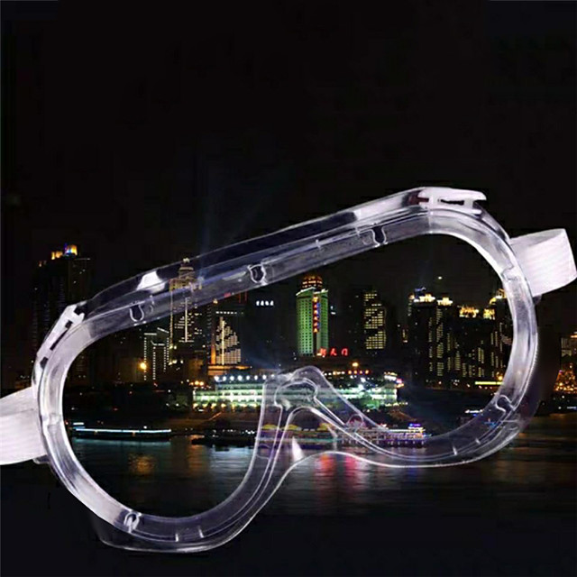 Adults' Goggles PC (Polycarbonate) Silica Gel Sports Outdoor Exercise Multisport Cycling / Bike - Transparent Unisex