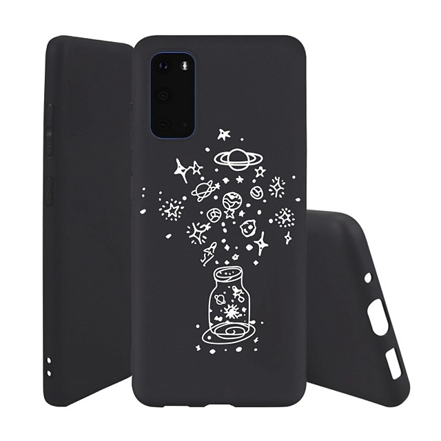Case For Samsung Galaxy S10 / Galaxy S10 Plus / Galaxy S10 E Ultra-thin / Pattern Back Cover Flower TPU For Galaxy S20/S20 Plus/S20 Ultra/A51/A71/Note 10/Note 10 Plus