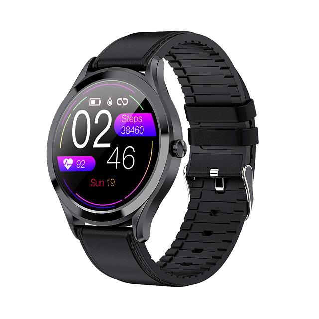 MK10 Smart Watch Men Fashion Women Sports Watches 1.28 inch Color Touch Screen Men Fitness Health Monitoring Smartwatch